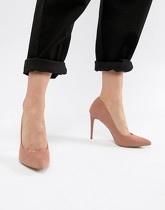 New Look - Escarpins pointus à talons hauts - Rose
