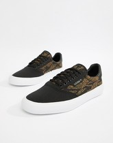 adidas -Skateboarding 3MC - Baskets - Noir B22708 - Noir