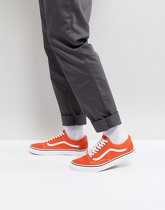 Vans - Old Skool - Baskets - Orange VA38G12W1 - Orange