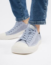 Converse - All Star Ox - Tennis perforées - Bleu 160461C - Violet