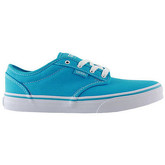 Chaussures Vans atwood canvas blue atoll white