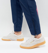 Reebok - Club C 85 Ts - Baskets - Gris - Exclusivité ASOS CN2559 - Violet