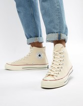 Converse - Chuck Taylor All Star '70 - Baskets montantes - Parchemin 162053C - Blanc