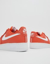 Nike - Air Force 1 '07 - Baskets - Orange AA4083-800 - Orange