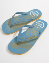 Jack & Jones - Tongs - Bleu
