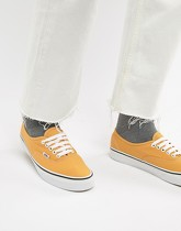 Vans Authentic - Tennis - Jaune VA38EMQA0 - Jaune