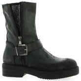 Boots Red Creatyve Boots cuir