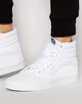 Vans - Sk8 - Baskets montantes - Blanc vd5iw00 - Blanc