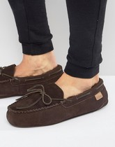 Just Sheepkin - Torrington - Chaussons - Marron