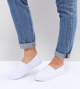 ASOS DESIGN - Dodger - Tennis pointure large - Blanc