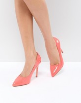Truffle Collection - Chaussures pointues à talons hauts - Fluo - Orange