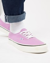 Vans Authentic - 44 DX Anaheim - Tennis - Rose - VA38ENQA9 - Violet