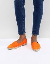 ASOS DESIGN - Jaslynn - Espadrilles - Orange