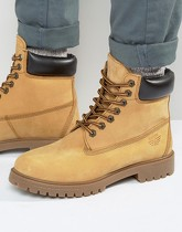 Red Tape - Bottines style worker - Beige - Beige