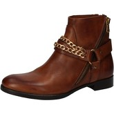 Bottines Cruz bottines marron cuir AD81