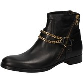 Bottines Cruz bottines noir cuir AD82