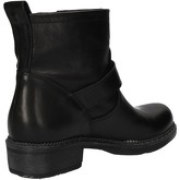 Bottines Cruz bottines noir cuir AD84