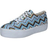 Chaussures Cult sneakers multicolor rafia BZ266