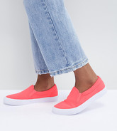 ASOS DESIGN - Dianna - Tennis à enfiler - Rose