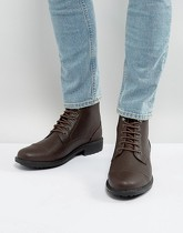 Brave Soul - Milled - Bottines à lacets - Marron - Marron