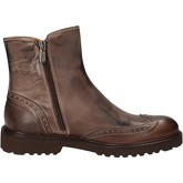Bottines Evoluzion bottines marron cuir AD264