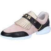 Chaussures Guardiani GUARDIANI sneakers or daim rose cuir AB764
