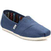 Chaussons Toms Mens Navy Canvas Classic Espadrilles